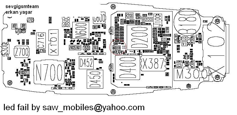 nokia 3510 schematics and diagrames